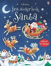 Santa First Sticker Book (Usborne First Sticker Books)