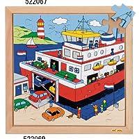 DLM 木製ジグソーパズル(港) 522069