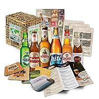 🥰 Contenu: coffret cadeau avec 6 bières du monde entier (meilleures bières du monde) spécialités de bière du monde ++ brochure d'information de haute qualité sur les bières incluses ++ instructions de dégustation pour la dégustation ++ cadeaux de bra...