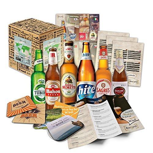 Cervezas de las especialidades (6 botellas) de mundo a las mejores cervezas delmundo dan awaywith caja de regalo (no cerveza barata)