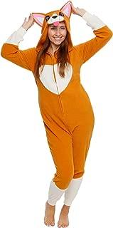 Slim Fit Animal Pajamas - Adult One Piece Cosplay Corgi Costume