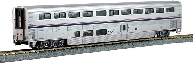 Kato USA Model Train Products 35-6055 HO Amtrak Superliner Coach Phase VI #34030