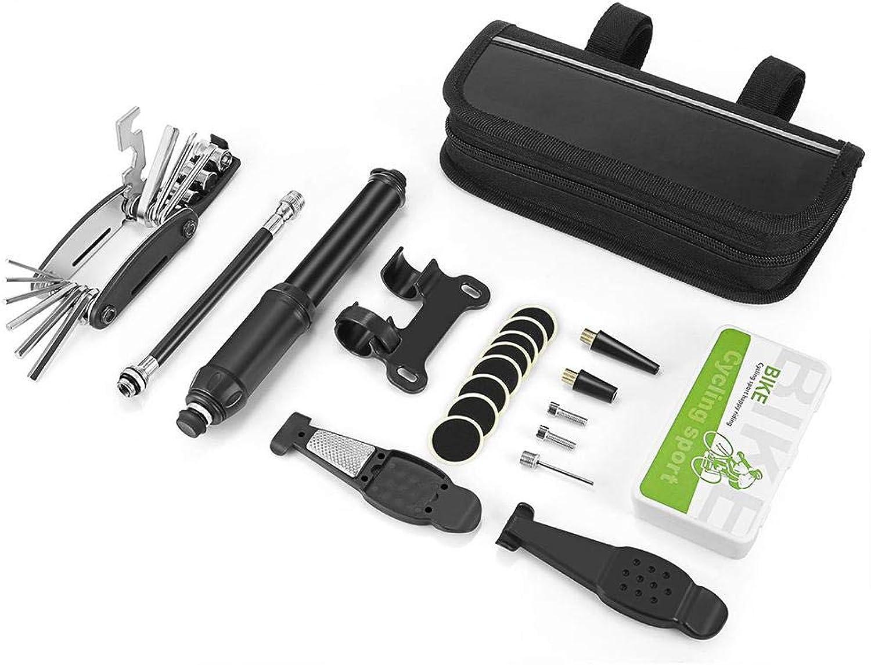 Bike Repair Tool Kit, Multifunction Bicycle Mechanic Fix Tools Kit for Road Bike Maintenance (21 Pcs)