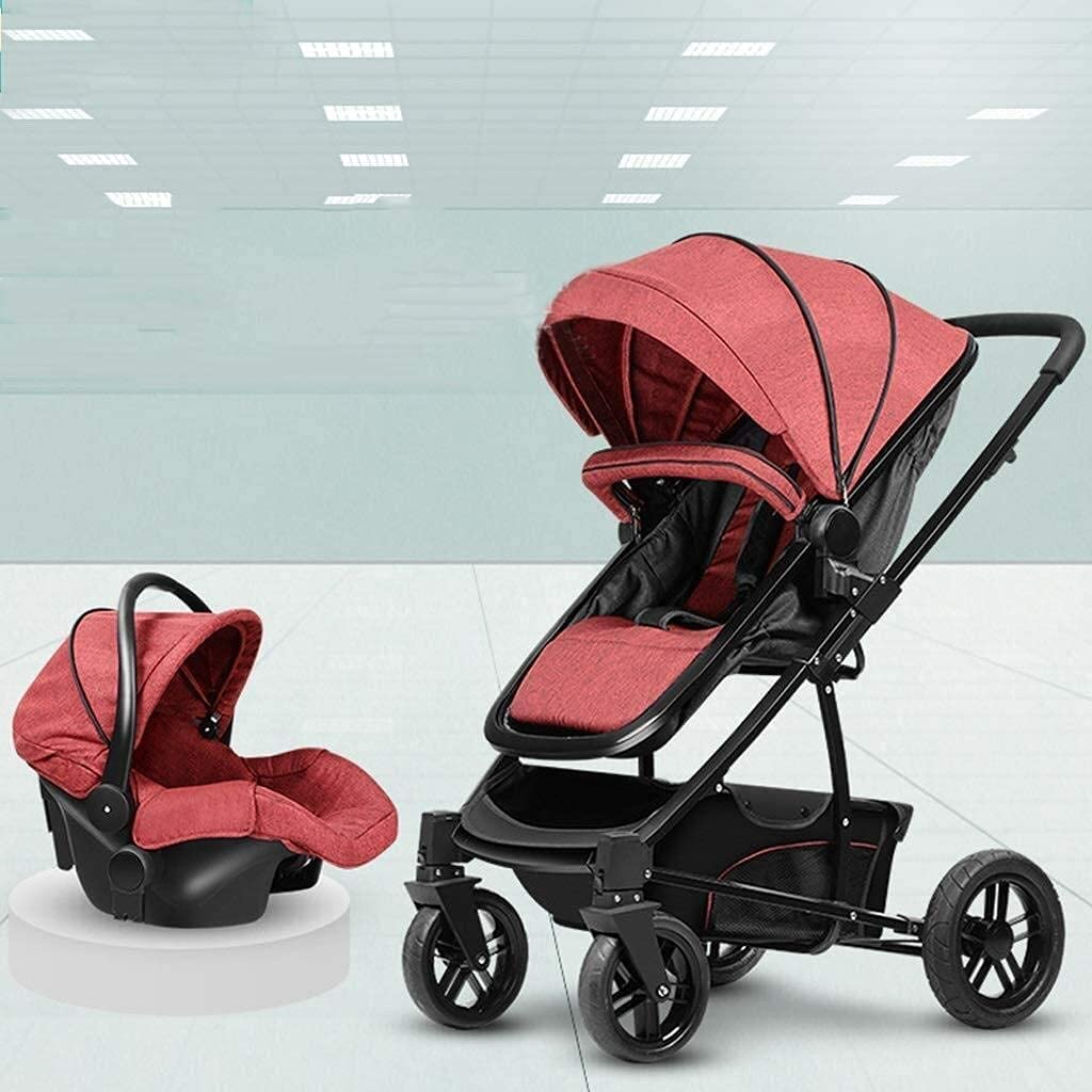 Nobrannd 3 in 1 Baby Popular Outlet SALE products Stroller Infant Foldable Pus Travel System