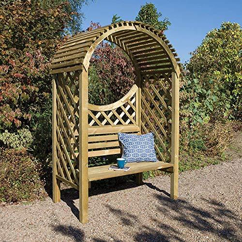 Muebles de jardín al aire libre y jardín espacio adicional para almacenar pabellón tratamiento de la corrosión y mirador, pérgola y arcos,Green