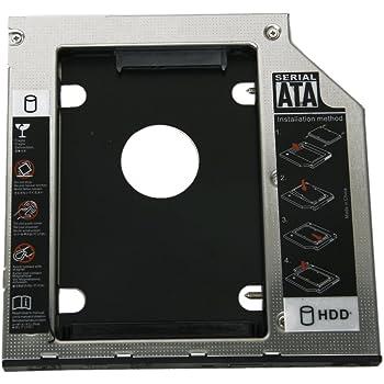 SODIAL(R) Bandeja Universal de Disco Duro 9.5mm SATA a SATA 2 ?HDD ...