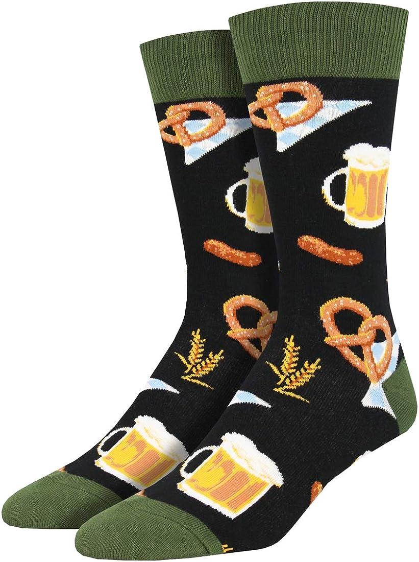 Socksmith Oktoberfest Black 10-13 (Men's Shoe Sizes 7-12.5): Clothing