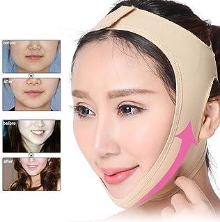 Afslankmasker voor het gezicht postoperatieve kin- en nekliftondersteuning en compressiemasker aanscherping van het gezich...