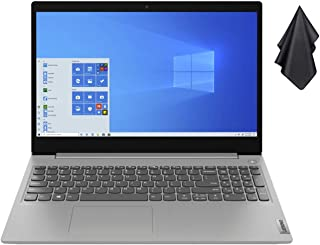 """2021 Newest Lenovo IdeaPad 3 15.6"""" FHD Non-Touch Laptop, Intel Dual-Core i3-1005G1 Up to 3.4GHz (Beats i5-7200u), 12GB DDR..."""
