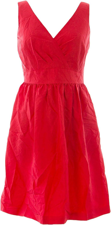 BODEN Women's Jasmine Dress US Sz 4 Deep Carmine