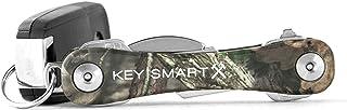 KeySmart Rugged - Multi-Tool Key Holder with Bottle Opener and Pocket Clip (up to 14 Keys, Mossy Oak)