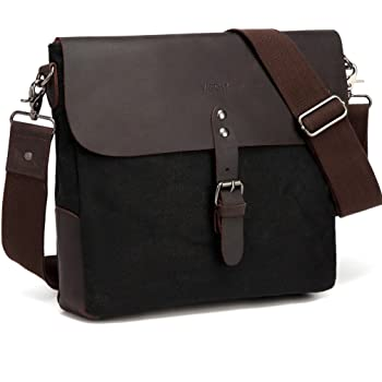 Tenacitee Living In West Virginia with Delaware Roots Grey Brushed Canvas Messenger Bag
