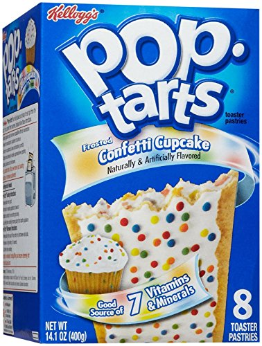 Kelloggs Pop Tarts - Frosted Confetti Cup Cake - 400g