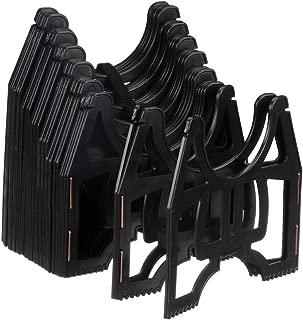 Valterra 10-Foot Slunky RV Hose Support, RV Sewer Hose Holder, Black