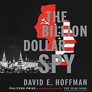 The Billion Dollar Spy audiobook cover art