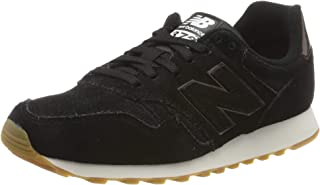 New Balance 373 Womens Black Suede Trainers