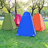 ZHANGji Zelt Camping Outdoor-Umkleideraum Umkleideraum Camping Duschzelt Anti-UV-Portable Toilettenschuppen