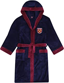 West Ham United kids dressing gown childs boys Childrens football bath robe