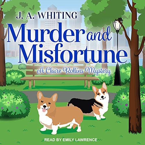 Murder and Misfortune audiobook cover art