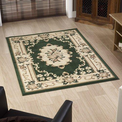 Pippa. G dunkelgrün Marrakesch Teppich 180 x 270 cm