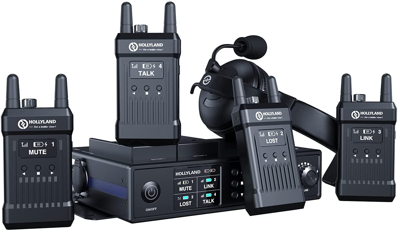 Hollyland Mars T1000 Official Full Low Ranking TOP3 price Sy Wireless intercom Duplex