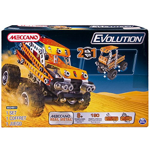 Spin Master 6024811 - Meccano EVO SUV off Road, Physik, Canyon Crawler