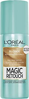 L'Oréal Paris Magic Retouch Temporary Root Concealer Spray - Blonde (Instant Grey Hair Coverage)