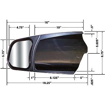CIPA 11300 Custom Towing Mirror - Toyota, Pair