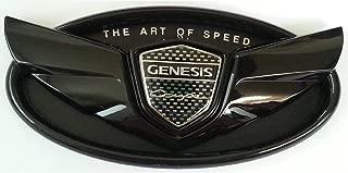 FidgetFidget Grille OR Trunk Genesis Coupe Glossy Black Wing Emblem Grille OR Trunk