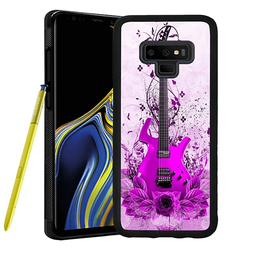 Samsung Galaxy Note 9 case Guitar Full Body Case Cover Screen Protector Heavy Duty Protection case Shockproof case for Samsung Galaxy Note 9