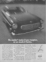 Magazine Print Ad: 1969 Volvo 1800S 2 Door Sport Coupe,