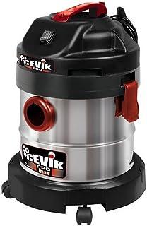 Cevik CE-PRO20X Aspirador s?lidos y l?quidos, 1250 W, 230 V, Gris metalizado