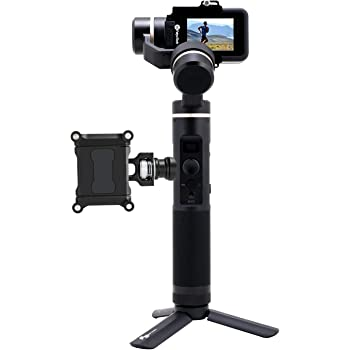 FeiyuTech Official G6 3-Axis Splashproof Handheld Gimbal for GoPro Hero 8/Hero 7/Hero 6/Hero 5/Hero 4/Hero 3/Sony RX0 Sport Action Camera with Mini Tripod and Lateral Smartphone Holder