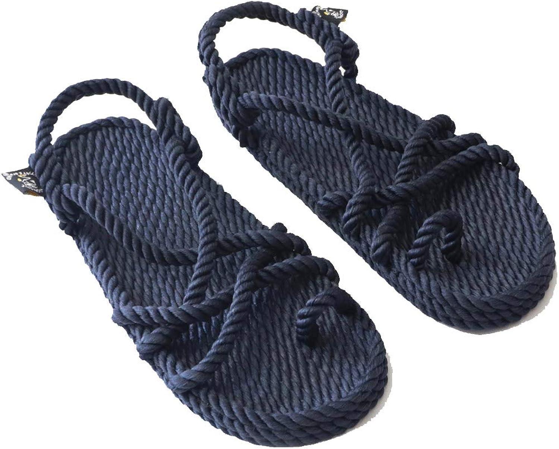Nomadics Toe Joe Unisex-Erwachsene Sandale aus Seil Navy