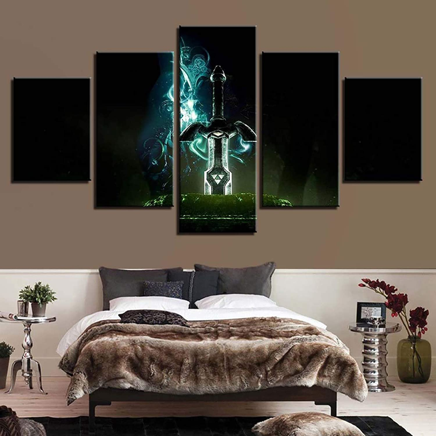 Wall Game Art Modern 5 Painting Canvas Pieces Legend The Prints Of xrdCeoBW