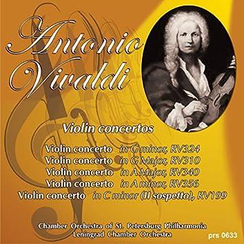 Vivaldi: Violin concertos