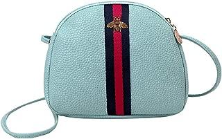 RONSHIN Women Mini Casual Single Shoulder Bag Satchel with Zipper