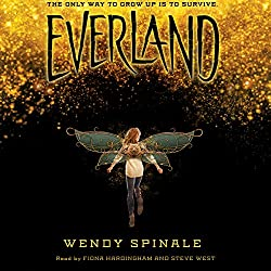 Everland, Wendy Spinale, Peter Pan, audiobook, free books