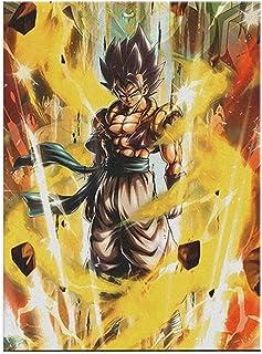 Anime kreskówka manga smok kula super Saiyan wybuchowa siła syn Goku obraz na płótnie sztuka ścienna plakat chłopiec sypia...