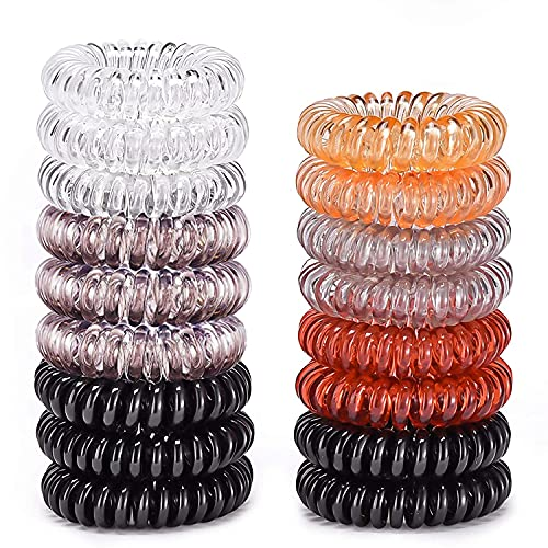 (58% OFF) 17 Pack Spiral Hair Ties $5.88 – Coupon Code