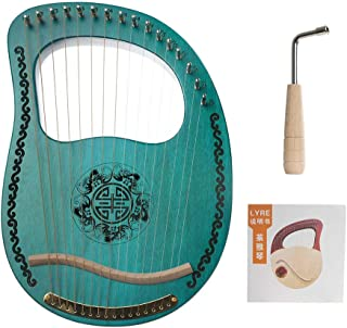 Easy to Learn Musical Instruments AKDSteel Muslady Lyre 16 String harp Portable 16 String Instrument Musical Instrument Pa...