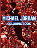 Michael Jordan Coloring Book: An Amazing Coloring Book. Detailed Hand Drawn Based On The TV Series The Last Dance