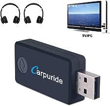 Transmisor Bluetooth para TV, PC (soporta 3.5mm, RCA, USB