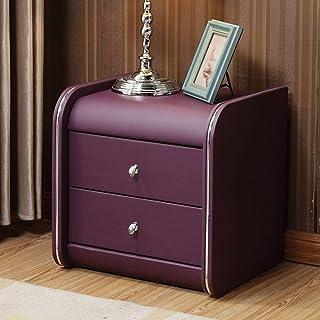 YAYONG Table de Chevet, Rangement de Chambre, avec tiroir de Rangement sans Installation, Coffre de Table d'extrémité, ada...