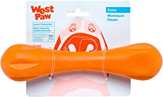 West Paw Zogoflex Hurley Durable Dog Bone Chew Toy for Aggressive Chewers