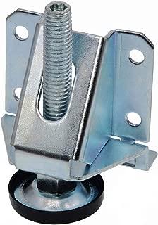 2 inch Height Adjustable Heavy Duty Furniture Legs Leveler Hexagon Nuts Lock (1 Pack)