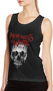 Motionless in White Womens Supersoft Cotton Casual Tank Top Shirt