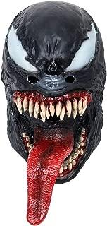 Adult Halloween Rubber Latex Party Venom Mask Head Costume Eddie Brock Full Face Helmet