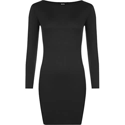 Long Sleeve Black Dress Amazon