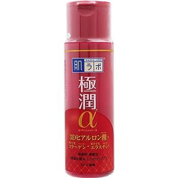 肌ラボ 極潤α ハリ化粧水しっとりタイプ 3Dヒアルロン酸×低分子化コラーゲン×低分子化エラスチン配合 170ml